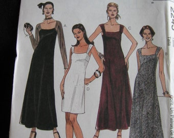 McCalls Womens Misses Dress Sewing Pattern 2245 Size 10 12 14  Uncut UC FF