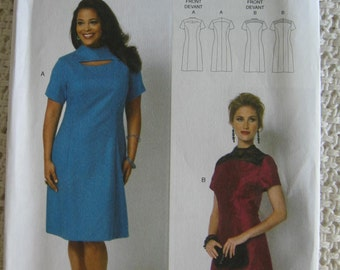 Butterick  Misses Womens Formal Evening Dress Sewing Pattern B5827 UC Uncut FF Size 3 4 6 8 10 12 14