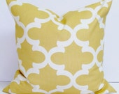 GOLD Pillows, Gold Pillow Cover, Decorative Pillow, Gold Throw Pillow, Gold Pillows, Saffron Pillow,  All Sizes, Gold Euro, Gold Cushion
