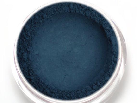 Matte Blue Eyeshadow Nightshade Dark Navy Blue