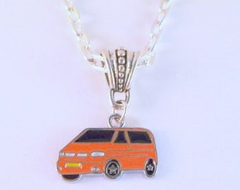 VW T4 Camper Van Necklace