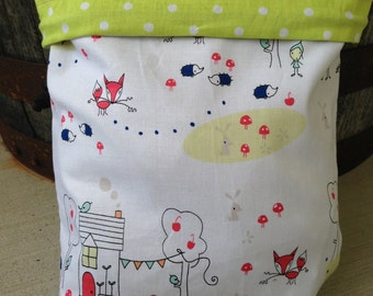 Enchanted Forest - Knitting Project Bag - Phat Fiber
