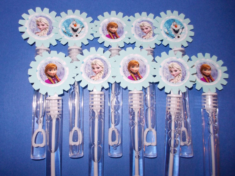 Disney frozen party favor bubbles disney frozen by Frozen party favors