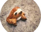 Miniature Animal Sloth Figurine, Sloth totem, sloth miniature