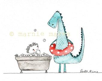 Bath Time ! - giclee print