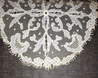 Antique lace sampler