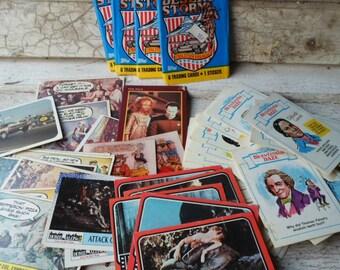 Trading Cards, Vintage Cards, Bubble Gum Cards, Star Trek, Desert Storm, Etc., Ephemera, Vintage Paper, Scrapbooking, All Vintage Man