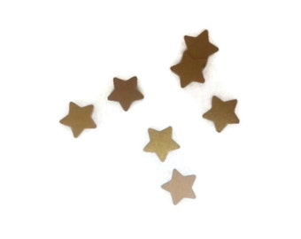 Gold OR Your Color Choice Mini Stars Table Scatter / Confetti / Scrap Booking / Embellishments