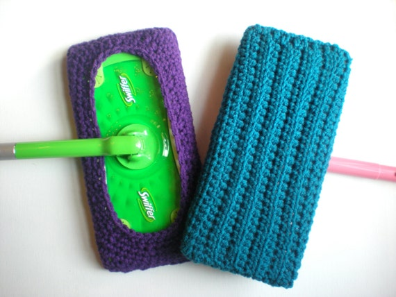 Modello: Copertura del Mop, modello di facile crochet PDF DowNLoaD istantaneo, Swiffer Sweeper, rigate e riutilizzabile, lavabile in lavatrice, il permesso di vendere