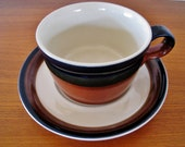 Mikasa Fire Song by Ben Seibel cup and saucer made in Japan