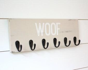 Dog Leash Holder- Woof - Medium