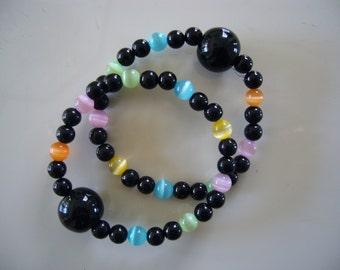 "Queasy Beads™ Motion Sickness Bracelets in ""Rainbow"""