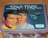 Vintage Star Trek The Motion Picture Metal Lunchbox