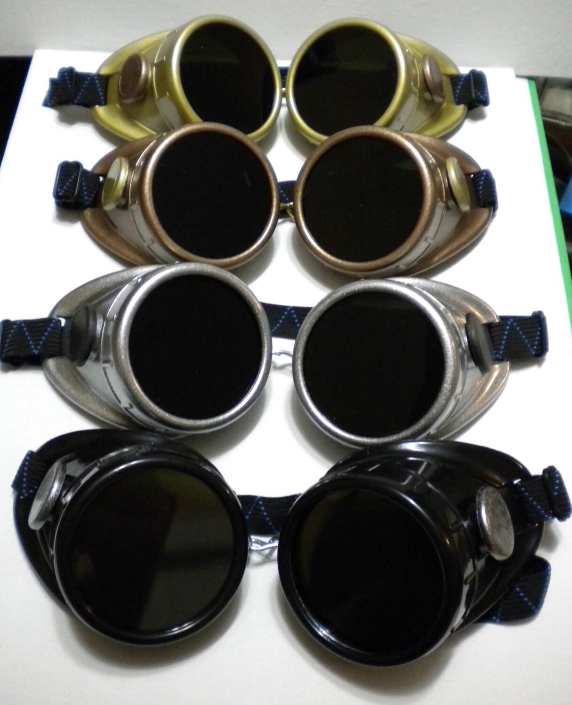Gothique steampunk style vintage lunettes de soudure lunettes - Lunette de soudure ...