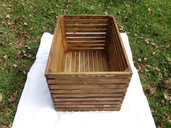 Large New Wooden Storage Box Diy Crates Toy Boxes Set: Extra Large Reclaimed Wooden Storage Crate With By Crisssexton