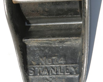 Antique 1800s STANLEY FLOOR Plane Rare No. 74 Large Carpenters Floor Plane, Rare Tool Collector, Gift Giving