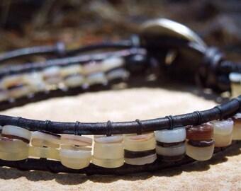 Natural Beauty Men's Wrap Bracelet