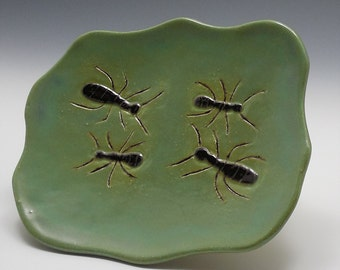 Soap dish with Ants