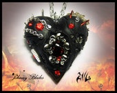 Heart of Hades  Necklace