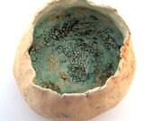 rustic ceramic pot