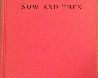 Manners, Now and Then, 1940, book.