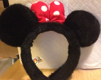 Minnie Mouse Ears for Halloween Costume