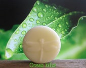 Organic Solid Lotion Bar - Ocean Mist - Pocket Size 2 oz - 100% Natural