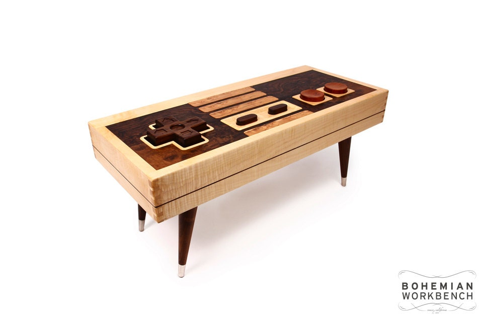 8 Bit Retro Gaming Table Functional