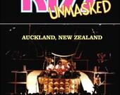 KISS UNMASKED Tour - Auckland New Zealand, December 03, 1980 Concert Stand-Up Display