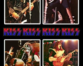 KISS ALIVE II / Hotline Stand-Up Display - Collectibles Collection Collector Memorabilia Gift Rock Band Music Poster Army Retro