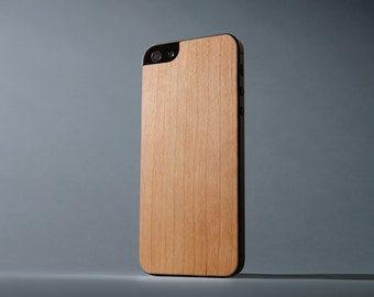 Cherry iPhone 5/5s Real Wood Skin - Made in the USA - FREE Shipping
