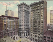 Postcard - PENNSYLVANIA - Fourth Ave and Wood St - Pittsburgh   - UNUSED