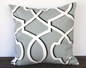 Pillow, Throw Pillow, Pillow Cover, Cushion, Toss Pillow, Decorative Pillow, grey geometric modern decor