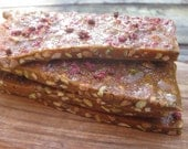 Pink Peppercorn Pistachio brittle