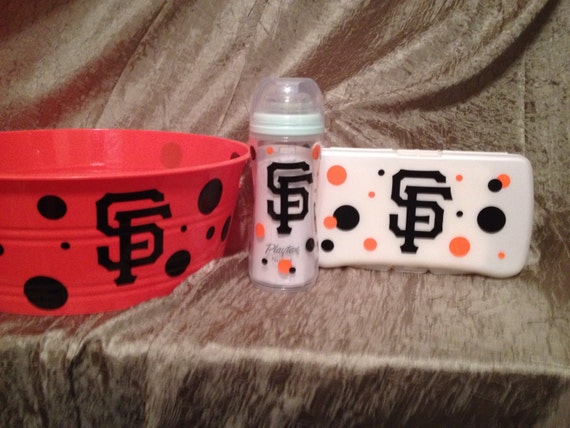Baby Gift Baskets San Francisco : Sf san francisco giants personalized baby by