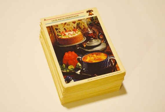 Recipe Card Collection Recipe Card Collection