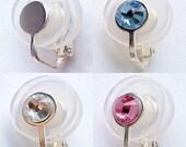 Φ15mm (0.594in) Clip-On Pressure Earring for Keloid Scars - Handmade in JAPAN