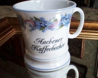 German Coffee Cup