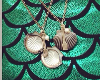 Ariels Locket Necklace