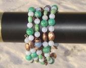Copper Seas Coil Bracelet