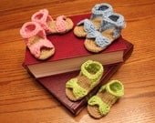 Baby Girl Crocheted Sandals