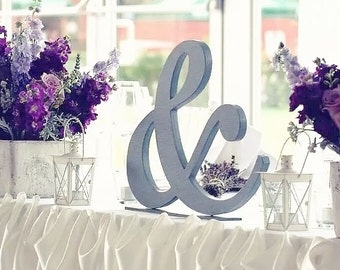 "Shabby chic ampersand sign 12 "",  Wooden symbol, Photo props Custom sign"