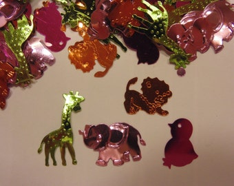 baby animal sequins / confetti (6)