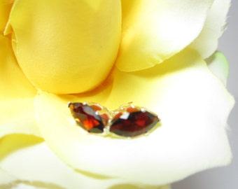 Mozambique Garnet Earrings