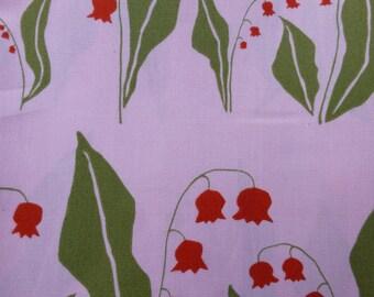 1/2 Yard Organic cotton, Monaluna, Meadow, Lily