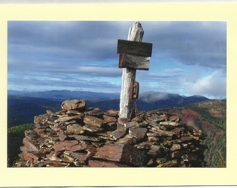 LOCAL CALLS to GOD Only - Original Outdoor Scenery / Local Artist Digital Photo Art Picture - Photo Card Twin Fold Design - In Stock