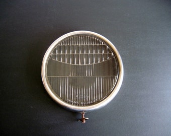 Vintage Ford Twolite Headlamp Glass Headlight
