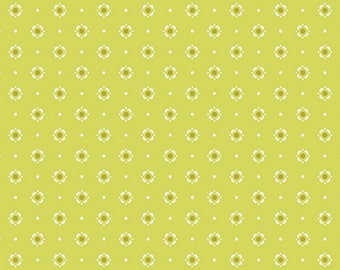 SAVE on 2.4 yd. bolt end--DREAMIN' VINTAGE--Bloomery--Citronelle---Jeni Baker--Art Gallery Fabrics
