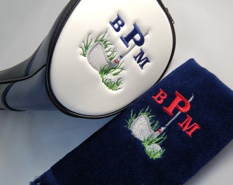 Personalized Embroidered Golf Head Cover