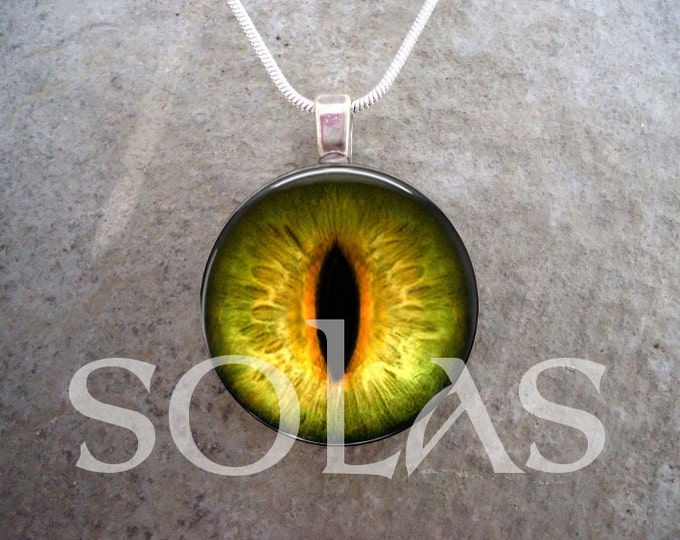 Dragon Eye Jewelry - Glass Pendant Necklace - Dragon Eye 6
